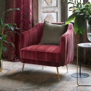 14. Glicine armchair Barberini curtain